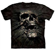 3-d Avance Calavera Camiseta rasgadura [Adulto Medio] TEE BY THE MOUNTAIN