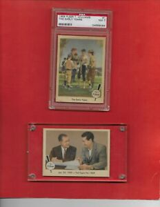 1959 Fleer Ted Williams complete Set 80 cards 31 PSA 7 NQ REDUCED!!!