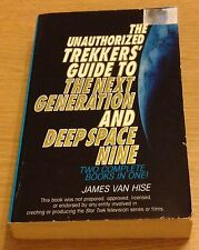 THE UNAUTHORIZED TREKKERS' GUIDE To The Next Generation And Deep Space Nine Book