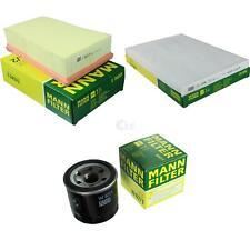 Mann-filter Set for Nissan Qashqai +2 I J10 JJ10 1.6 2.0 T31 Fwd AWD