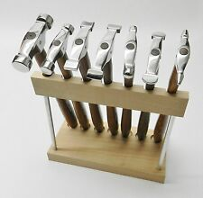 7 Mini Trustrike Hammer Set & Stand Designing Jewelry Metalsmith Forming Shaping