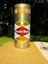 16 Oz Grain Belt Half Quart Crimped Steel Old Beer Can