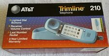 Vintage AT&T Trimline 210 Wall Mount or Desktop Telephone Light Blue in Box