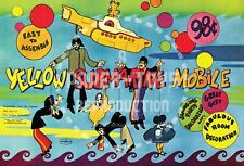 VINTAGE REPRINT - THE BEATLES YELLOW SUBMARINE MOBILE - REPRODUCTION
