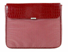 "Targus 15.4"" Simone Laptop Sleeve Synthetic Leather - Red"