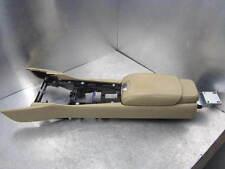 Jaguar XKR QQ6 2011 Mittelkonsole Tunnel Armlehne Leder Caramel