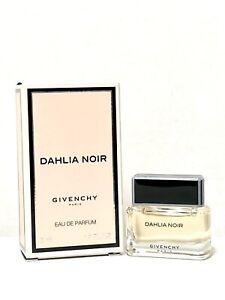 Givenchy Dahlia Noir Women Perfumen 5ml-.17oz EDP Splash MINI Travel Size (C59