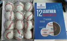 (24) Official League Genuine Leather Practice Baseballs Academy Sports
