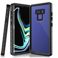 For Samsung Galaxy Note 9 Waterproof Case Cover Built-in Screen Protector IP68