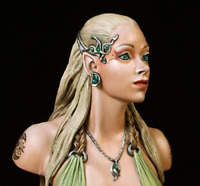 1/20 bust Princess model from resin disassembled and unpainted kit