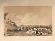 Valencia .George Vivian, litografia original.Londres 1838
