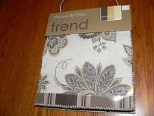 "Trend Wovens By Color ""Sand/Earth"" Upholstery Sample Swatch Fabric Book #B1214-4"
