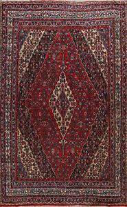 Medallion Handmade Traditional Hamedan Oriental Area Rug Geometric Carpet 9x12