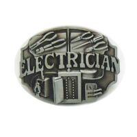 Large Electrician Western Mens Belt Buckles for women Cowboy Vintage Belt Buckle