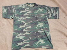RARE US USA VIETNAM WAR ERDL green CAMO T SHIRT XL lrrp sog special forces seal