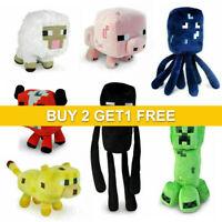 Minecraft Plush Toy Kids Gift Children Stuffed Animal Soft Plushies TOY