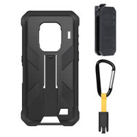 Ulefone Phone Case For Armor 9/9E Original Case with Belt Clip and Carabiner