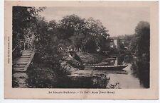 Cpa carte postale 79 Deux-Sèvres le Marais Poitevin un Bief à Arçais