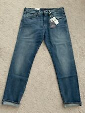 LEVIS MADE AND CRAFTED 502 TAPER FIT SELVEDGE JEANS 34X34 CONROE
