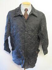 """Barbour D364 Liddesdale Quilted Jacket - XL 46-48"""" Euro 56-58 in Black"""
