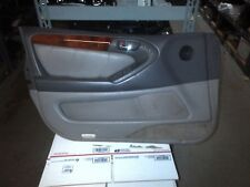 01-05 LEXUS GS300 GS430 FRONT DRIVER LEFT SIDE DOOR PANEL TRIM GREY