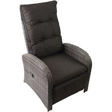 Polyrattan Loungesessel inkl. Sitzpolster Relaxsessel Sessel Gartensessel