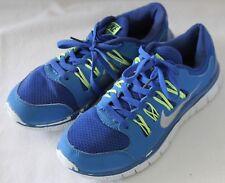 huge discount 17b92 bbe45 NIKE ~ Free 5.0 Cornflower Blue Neon Yellow Running Sneaker EU 37 US 6 UK 4