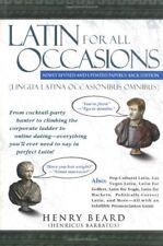 B0057DA9WO Latin for All Occasions