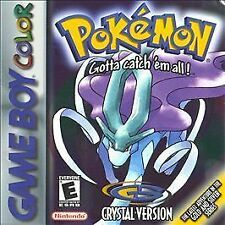 Pokemon, Crystal Version, (GameBoy Color)