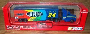 JEFF GORDON #24 DUPONT 1993 1/87 RACING CHAMPIONS HAULER