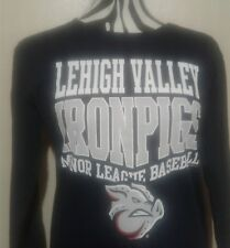 Lehigh Valley IronPigs MiLB Women's Longsleeve T-Shirt Size New Size -MED-