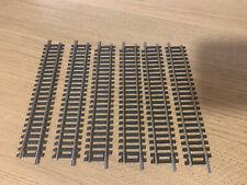 HORNBY R600 NICKEL SILVER STRAIGHT x 6
