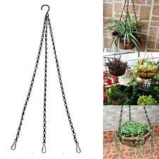 50cm Plant Hanger Flowerpot Basket Bracket Hook Holder With S Hook Garden Decor