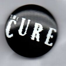 THE CURE - BUTTON BADGE ENGLISH ROCK BAND - GOTH - ROBERT SMITH 80s 90s 25mm PIN