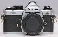 [EXC++] Nikon New FM2N SLR 35mm Film Camera Body Silver Made in Japan. NEW SEALS