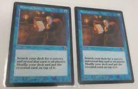 2 x Personal Tutor - Portal - Magic The Gathering Card - MTG
