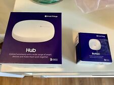Samsung SmartThings Home Automation Smart Hub 3rd Generation - + Button
