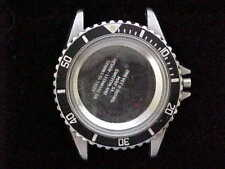 Heuer 1000 Series All Stainless Steel With Stainless & Black Bezel Ref. 980.033