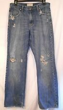AMERICAN EAGLE OUTFITTERS mens destroyed Loose Fit jeans size 32X33