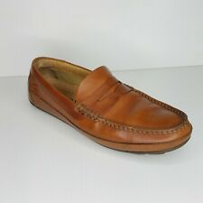 Sperry Top-Sider Men's Brown Slip-On Hampden Penny Loafers STS10721 Sz 10.5 M