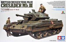 TAMIYA 1/35 Crusader mk.iii Británico Tanque Crucero mk.vi #37025