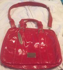 Chinese Laundry Purse Handbag Red Shinny Brand New