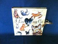 I Love My Cat Album Book, Hardcover Photo Album by Barron'S Vintage New #s