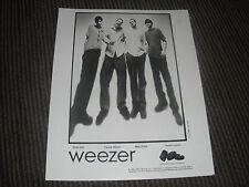 Weezer 1995 Headshot 8x10 B&W Publicity Photo