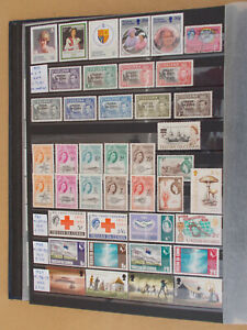TRISTAN DA CUNHA good coll. 119 stamps all diff. - 5 scans # Lot 4542