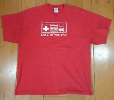 Vintage 2004 Officially Licenced Nintendo Controller console T-Shirt XL Red