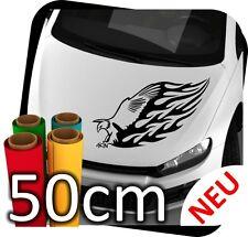 50cm Adler Tribal Animal Flames Tattoo Tunning Auto Eagle Sticker Aufkleber JDM