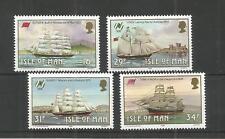 I.O.M 1988 MANX SAILING SHIPS SG,385-388 UM/M N/H LOT R948