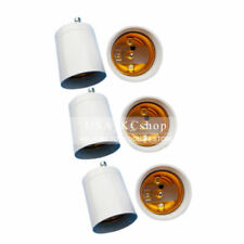 New 4PCS Standard GU24 To E26/E27 Convert Light Bulb Lamp Holder Adapter Socket