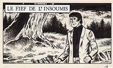 GERON FIEF DE L'INSOUMIS  DESSIN ORIGINAL ARCHIVES AREDIT(dessin No 1 titre)